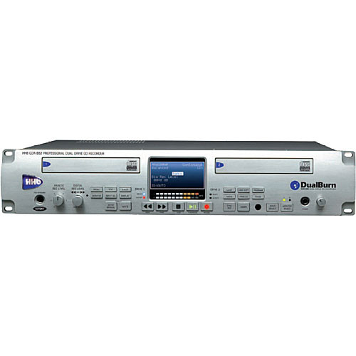 Hhhb: HHB CDR882 Dual-Drive CD Recorder CDR882 B&H Photo Video