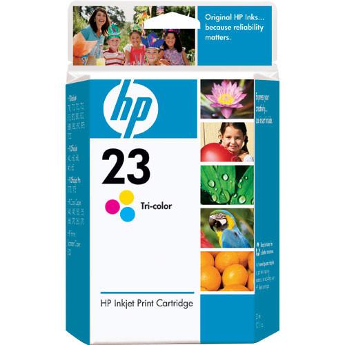 HP 23 Tri Color Inkjet Print Cartridge