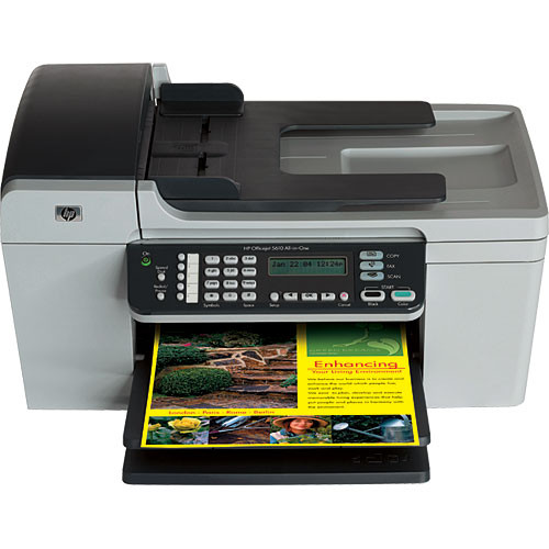 hp officejet 5610 all in one q7311a b h photo video. Black Bedroom Furniture Sets. Home Design Ideas