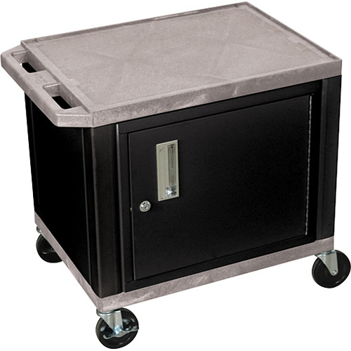 """Luxor Kitchen Cabinets: Luxor 24.5"""" Tuffy Cart With Cabinet And WT26GYC2E-B B&H"""