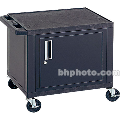 """Luxor Kitchen Cabinets: Luxor 24.5"""" Tuffy Cart With Cabinet And Electrical WT26C3E"""