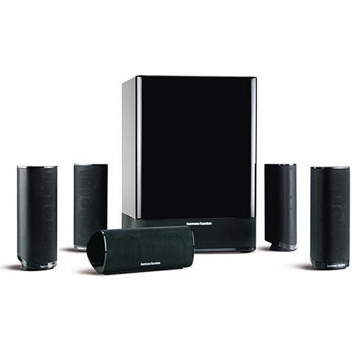 harman kardon hkts 18 home theater speaker system black hkts. Black Bedroom Furniture Sets. Home Design Ideas