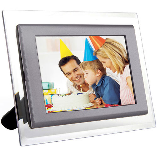 Hiti K65 7 Digital Picture Frame Silver Gray K65g Bh