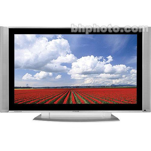 "hitachi 55hds69 55 hdtv plasma monitor demo 55hds69 b h rh bhphotovideo com Hitachi Plasma Repair Manual Hitachi Ultravision 55"" Plasma"