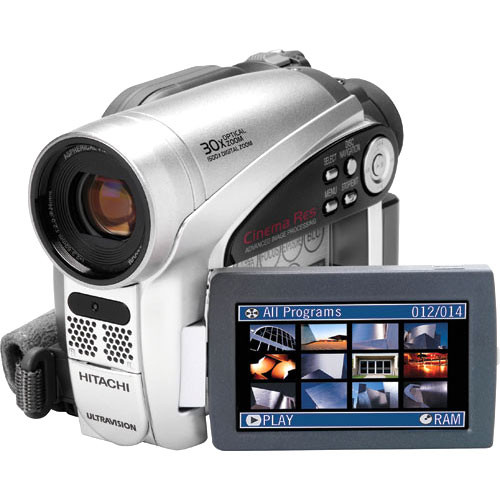 hitachi dzgx5020a dvd camcorder dzgx5020a b h photo video rh bhphotovideo com Digital Camera Batteries Canon Digital Camera Memory Card