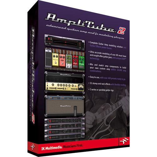 ik multimedia amplitube 2 plug in at 200 hcd in b h photo video. Black Bedroom Furniture Sets. Home Design Ideas