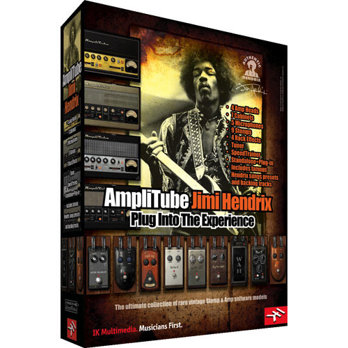 ik multimedia amplitube jimi hendrix software at 200 jhx in b h. Black Bedroom Furniture Sets. Home Design Ideas