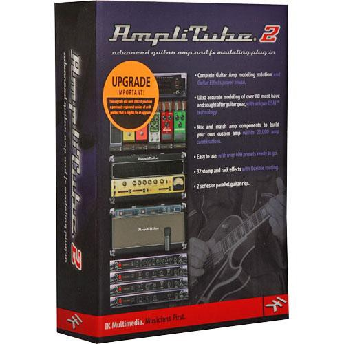 ik multimedia amplitube 2 plug in upgrade at 200 usl in b h. Black Bedroom Furniture Sets. Home Design Ideas