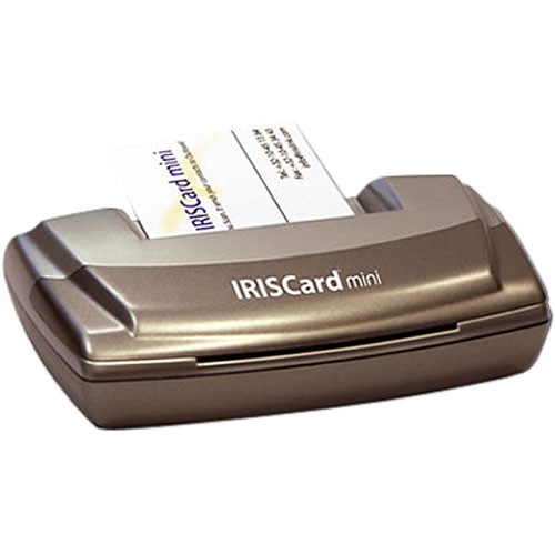 Iris iriscard mini 4 card scanner usoa390 bh photo video iris iriscard mini 4 card scanner colourmoves