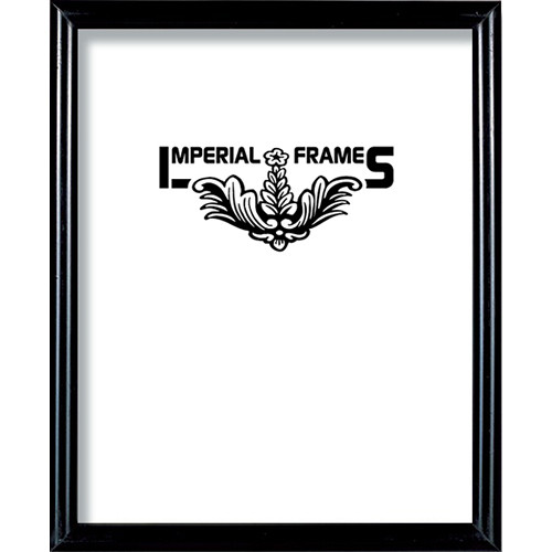 imperial frames regency wood picture frame f301 11x17 black