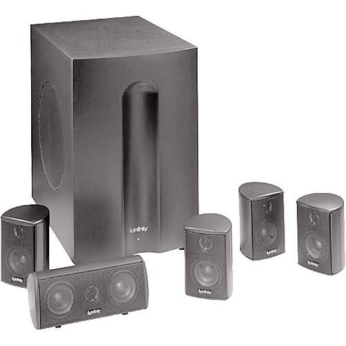 infinity home speakers. infinity tss-450pl home theater speaker system (platinum) speakers