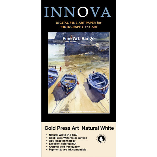 format for a letter innova cold press textured white paper 25002 b amp h 25002