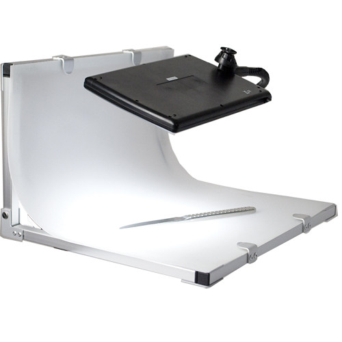 Portable Product Photography Studio With Lighting: Interfit Portable LED Studio Table Kit INT399 B&H Photo Video