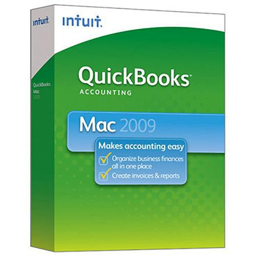 Intuit QuickBooks 2009 Software For Mac 406663 B&H Photo Video