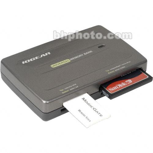 IOGear Universal Memory Bank Card Reader Drivers