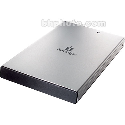 how to open iomega external hard drive