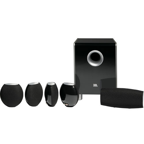 jbl cs480bg 6 piece home cinema speaker package cs480bg b h. Black Bedroom Furniture Sets. Home Design Ideas