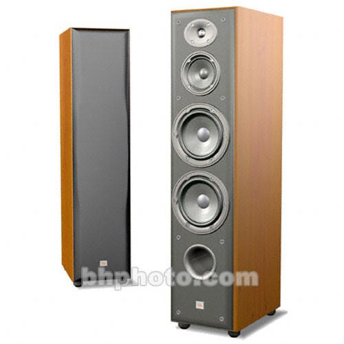 Jbl e80 3 way floorstanding speaker cherry e80ch b h photo for 12 floor speaker