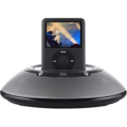 jbl on stage micro portable loudspeaker for ipod jblonstmblk2p. Black Bedroom Furniture Sets. Home Design Ideas