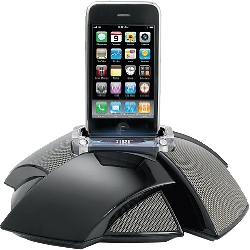 iphone docking station with speakers jbl on stage iv speaker dock for ipod iphone jblos4blkam b amp h 17638
