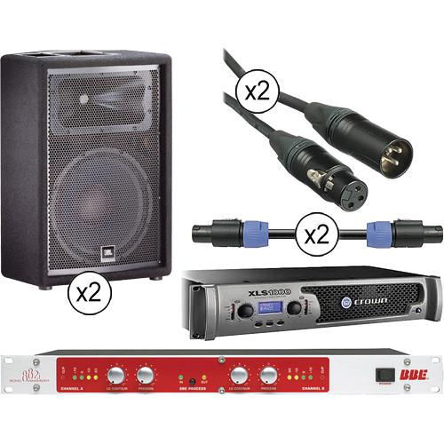 jbl jrx 112m passive 12 speaker kit with crown power. Black Bedroom Furniture Sets. Home Design Ideas