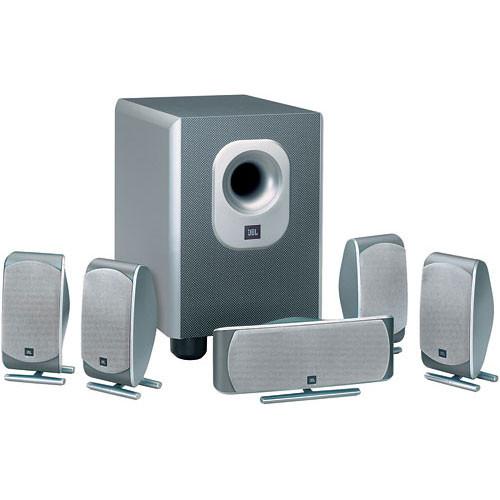 jbl demo scs 200 5 6 piece home theater speaker system scs2005. Black Bedroom Furniture Sets. Home Design Ideas