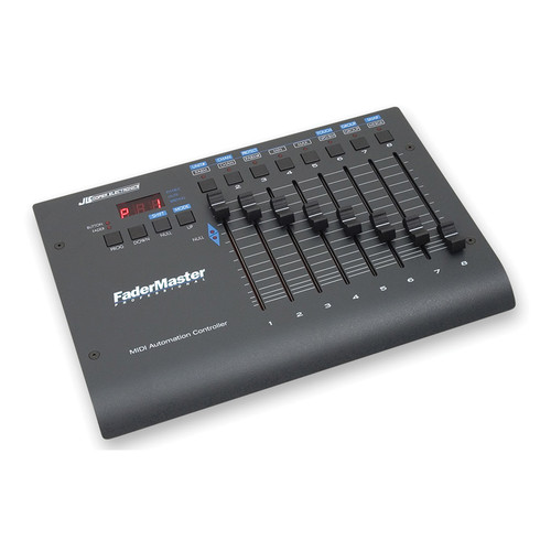 Jlcooper fadermaster pro midi automation fadermaster pro b h for Daw control surface motorized faders