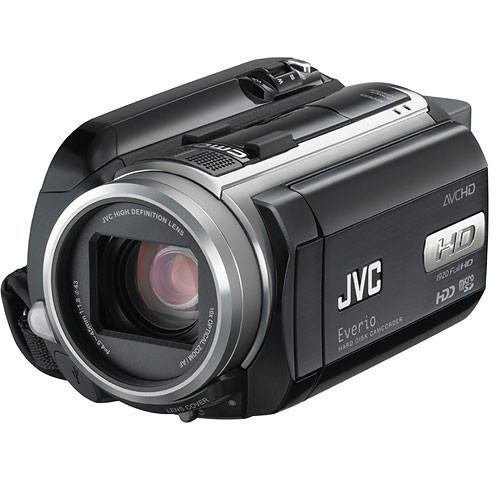 JVC GZ-HD40 Everio High Definition Camcorder GZ-HD40US B&H ...