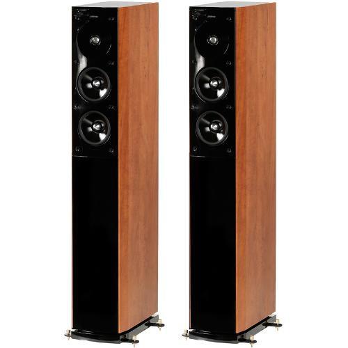Jamo S 606 Floorstanding Speaker Pair Dark Le