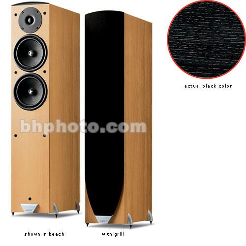 Jamo E855 Bookshelf Speaker Black Ash E855ba B Amp H Photo Video