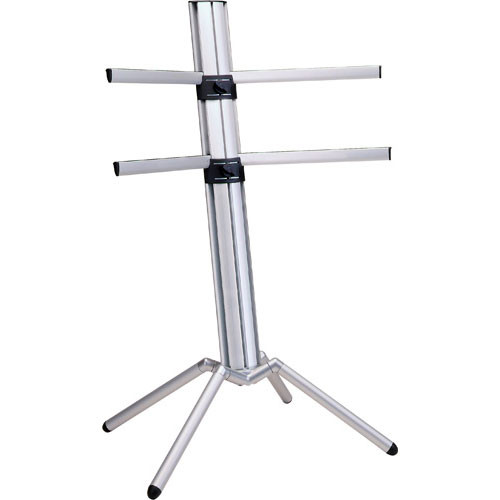 k m 18850 spider keyboard stand silver 18850 000 30 b h photo. Black Bedroom Furniture Sets. Home Design Ideas