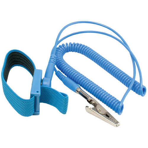 Kingwin Anti Static Wrist Strap With Grounding Wire Blue