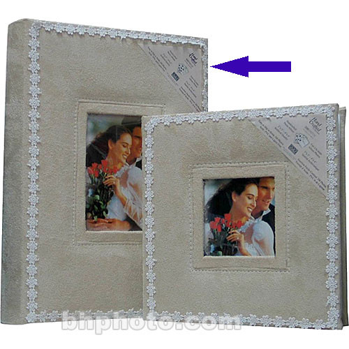 Kleer Vu Wedding Album 90724 For 300 Photos 90724 Bh Photo