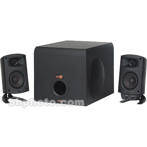 klipsch promedia 2 1 thx 3 piece computer speaker system 1007765. Black Bedroom Furniture Sets. Home Design Ideas