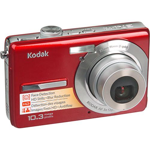 Kodak EasyShare M1063 Digital Camera (Red) 1440452 B&H Photo