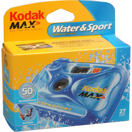 Kodak Water Sport One Time Use Disposable Camera