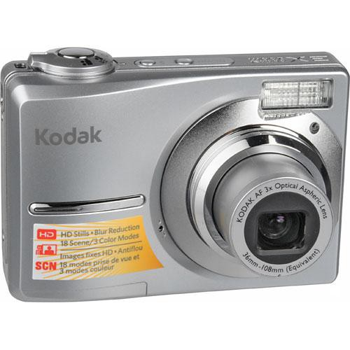 kodak easyshare c913 digital camera silver 8100208 b h photo