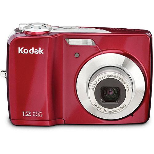 kodak easyshare c182 point and shoot digital camera red rh bhphotovideo com kodak easyshare c182 digital camera instructions Kodak Digital Camera Commercial