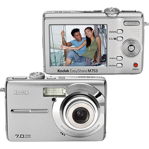 kodak easyshare m753 digital camera sterling 8377749 b h photo rh bhphotovideo com Kodak EasyShare C195 Instruction Manual Kodak EasyShare C195 Instruction Manual