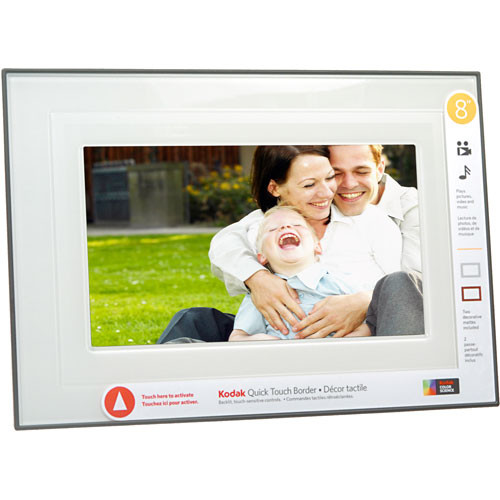 Kodak M820 Easy Share Digital Picture Frame - 8\