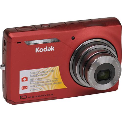 kodak easyshare m1033 digital camera red 8625949 b h photo rh bhphotovideo com Kodak EasyShare DX6490 Manual Kodak EasyShare DX6490 Manual