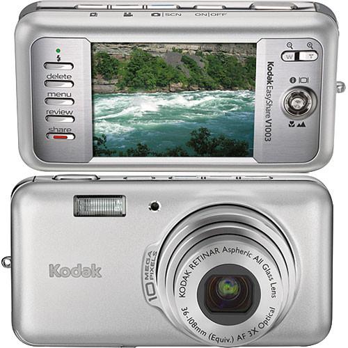 kodak easyshare v1003 digital camera silver essence 8666661 rh bhphotovideo com Kodak EasyShare Camera User Guide Kodak EasyShare User Manual