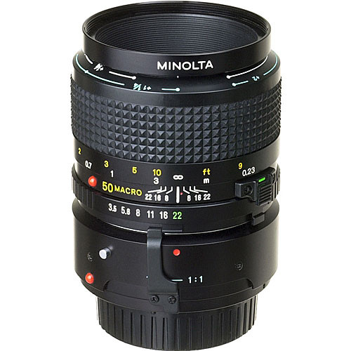 konica minolta normal 50mm f 3 5 md macro manual focus 635818 rh bhphotovideo com The Complete Digital Photo Manual Manual Photography Cheat Sheet