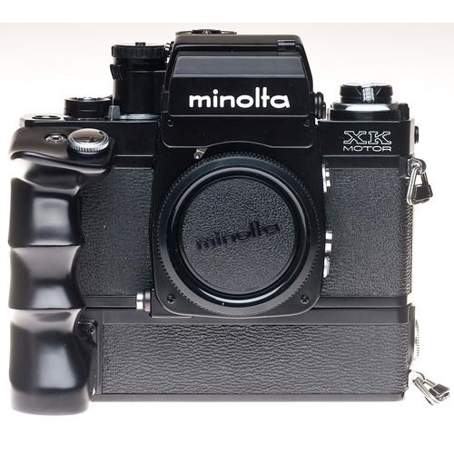 used konica minolta xk motor 35mm manual focus camera body b h rh bhphotovideo com Minolta XK Case minolta xk service manual