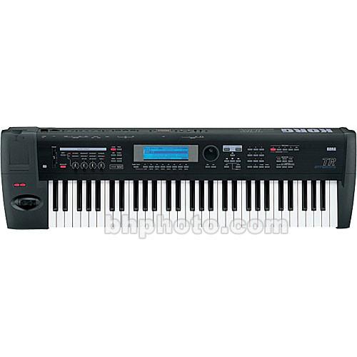 korg tr 61 61 key workstation controller keyboard tr61 b h. Black Bedroom Furniture Sets. Home Design Ideas