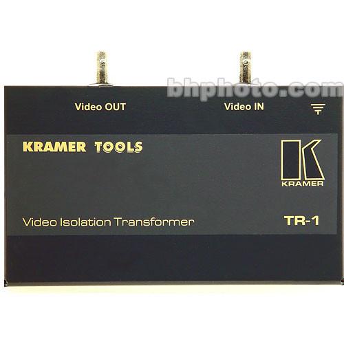 kramer tr 1 video isolation transformer tr 1 b h photo video. Black Bedroom Furniture Sets. Home Design Ideas