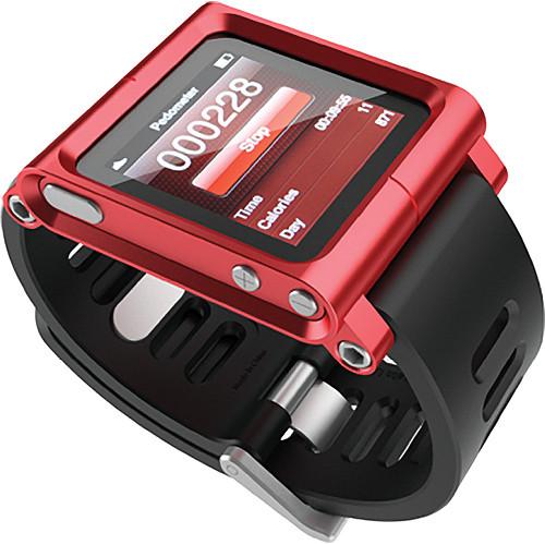 Lunatik Wrist Strap Conversion Kit For Ipod Nano 6th Generation 8 16gb Red