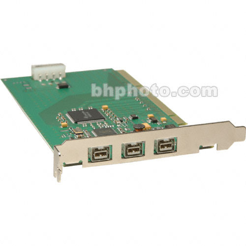 LaCie 3 Port FireWire-800 PCI Card - Mac/Win 107755 B&H Photo