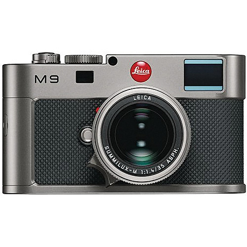 Leica M9 Titanium Rangefinder Digital Camera Body W 35mm F 14 Lens