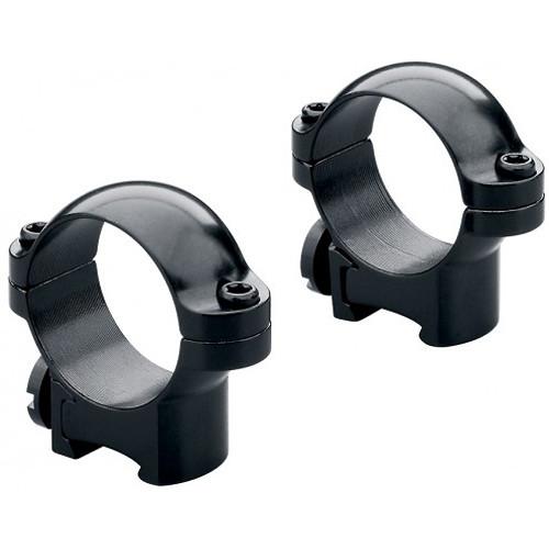 "Leupold RM Rimfire Ringmounts for 13mm Dovetail Rails (1"", Steel, Low,"